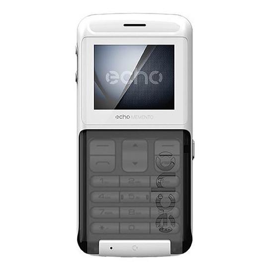 Smartphone et téléphone mobile Echo Memento (blanc) - Autre vue