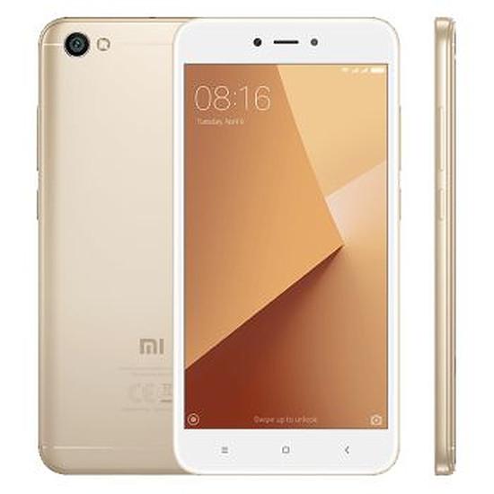 Smartphone et téléphone mobile Xiaomi Redmi Note 5A (or) - 16 Go