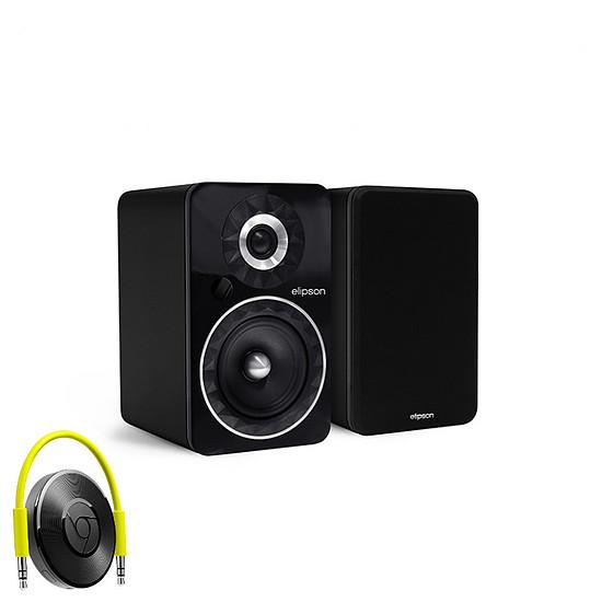 Enceinte sans fil Elipson Prestige Facet 6B Bluetooth Chromecast Noir - Enceintes compactes