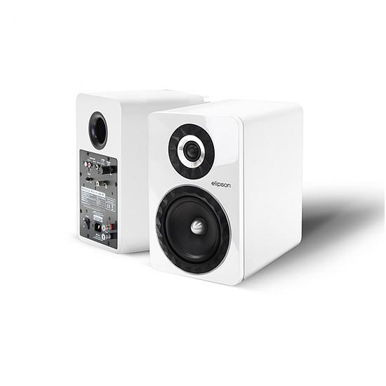 Enceinte sans fil Elipson Prestige Facet 6B Bluetooth Chromecast Blanc - Autre vue