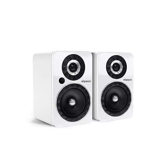 Enceinte sans fil Elipson Prestige Facet 6B Bluetooth Chromecast Blanc - Enceintes compactes - Autre vue