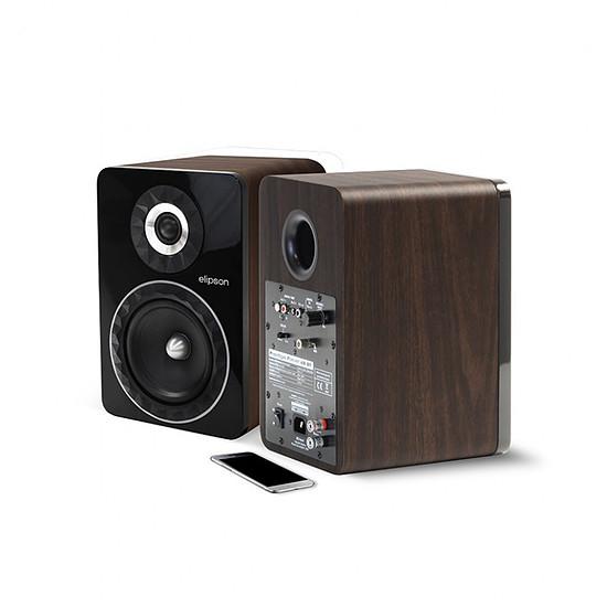 Enceinte sans fil Elipson Prestige Facet 6B Bluetooth Chromecast Marron - Autre vue