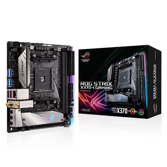 Carte mère Asus STRIX X370-I GAMING