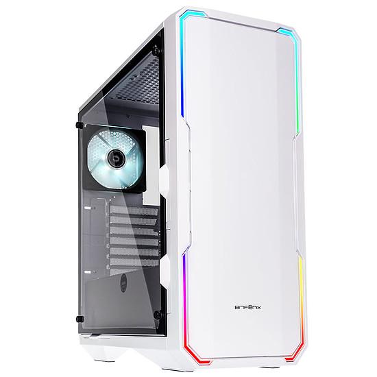 Boîtier PC BitFenix Enso RGB TG - Blanc
