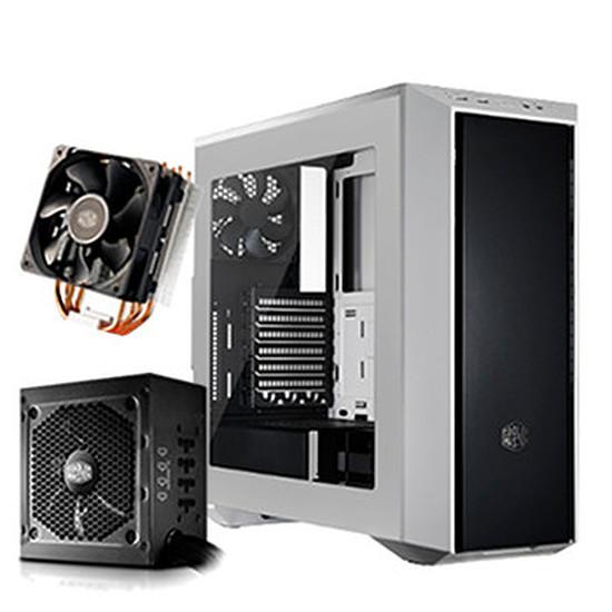 Boîtier PC Cooler Master MasterBox 5 White Edition + G650M + Hyper 212X