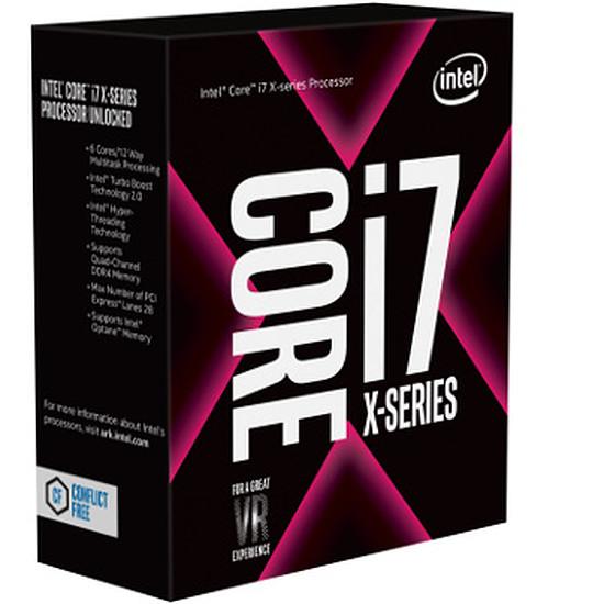 Processeur Intel Core i7 7800X + MSI X299 SLI PLUS