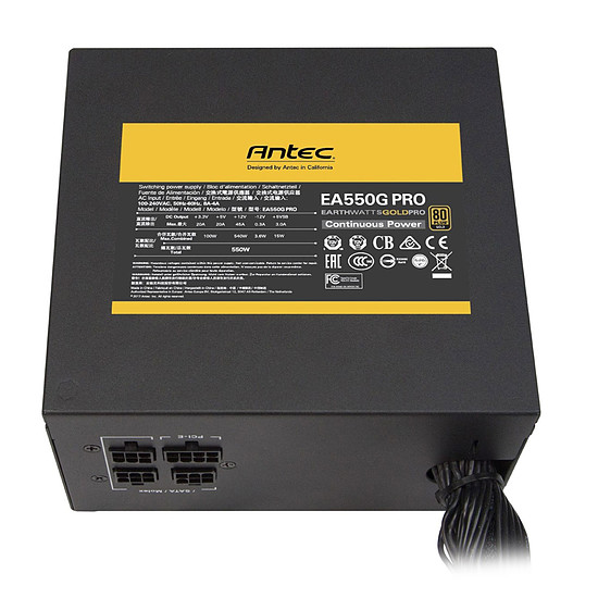 Alimentation PC Antec EA550G PRO - Autre vue