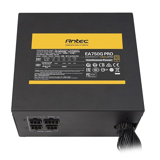 Alimentation PC Antec EA750G PRO - Autre vue