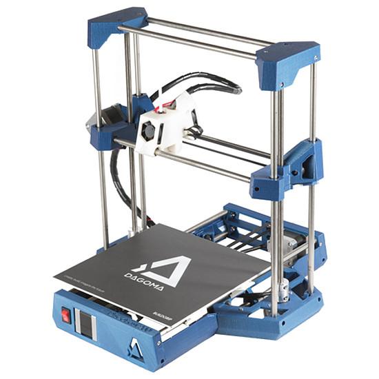 Imprimante 3D Dagoma DiscoEasy200 Custom - Electric (Bleu) - En kit - Autre vue