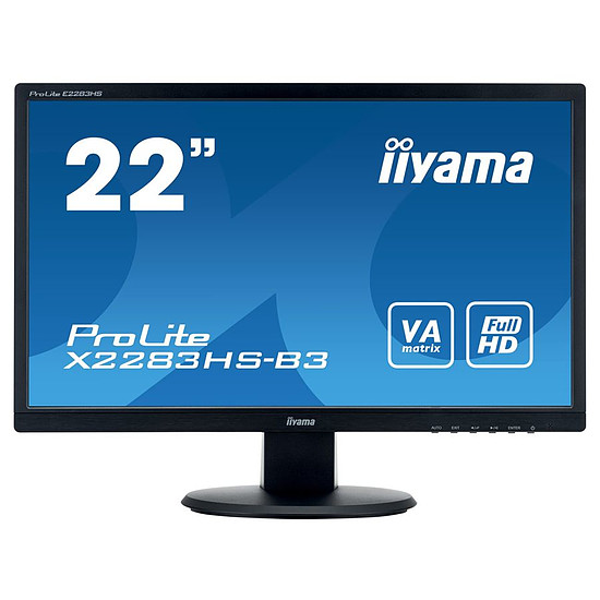 Écran PC Iiyama ProLite X2283HS-B3