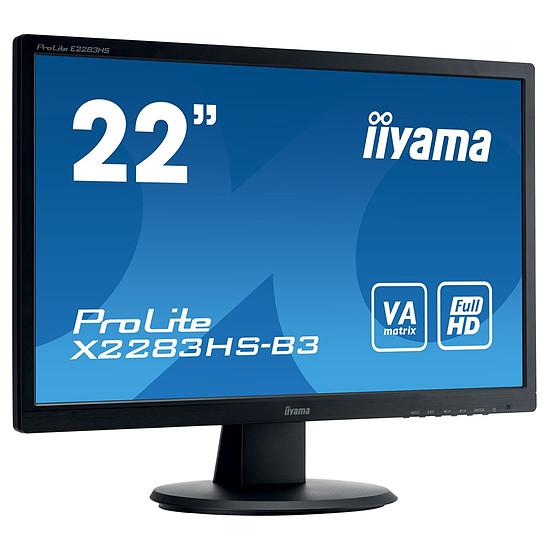 Écran PC Iiyama ProLite X2283HS-B3 - Autre vue