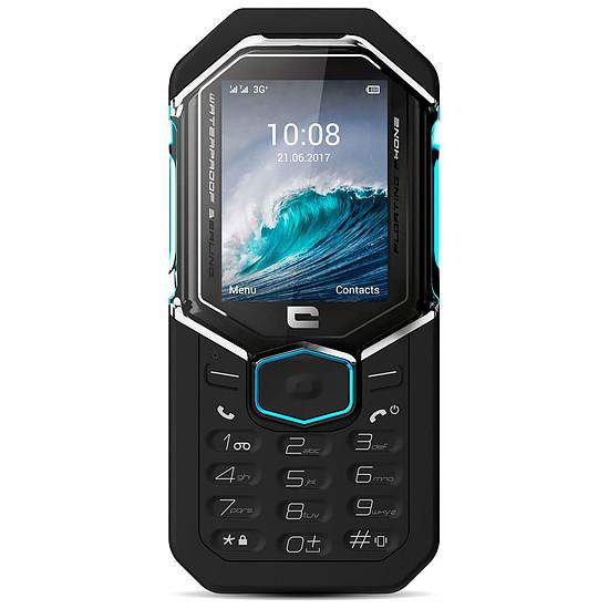 Smartphone et téléphone mobile Crosscall Shark-X3 (noir - bleu) - Autre vue