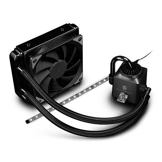 Refroidissement processeur DeepCool Gamer Storm Captain 120 EX RGB Noir