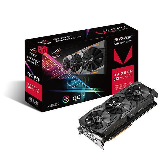 Carte graphique Asus ROG Strix Radeon RX VEGA 64 O8G Gaming - 8 Go