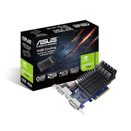 Carte graphique Asus GeForce GT 730 - 2 Go (DDR3) Passive v2