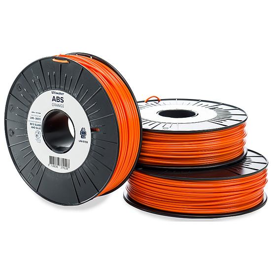 Filament 3D Ultimaker ABS Orange - 2.85 mm - 750 g