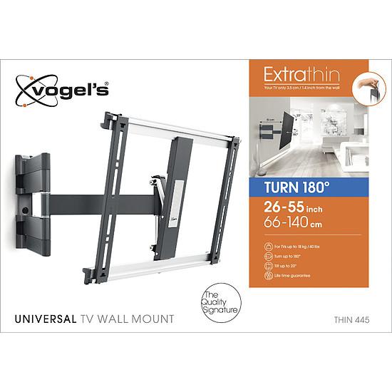 Support TV Vogel's THIN 445 Noir - Autre vue