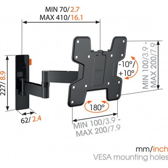 Support TV Vogel's WALL 3145 - Autre vue