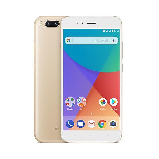 Smartphone et téléphone mobile Xiaomi Mi A1 (or) - 64 Go