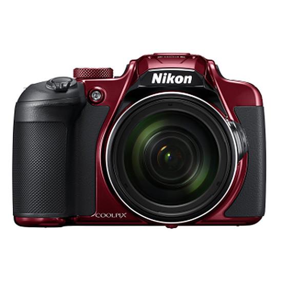 Appareil photo compact ou bridge Nikon Coolpix B700 Rouge + étui cuir + SD 16Go (Pack)