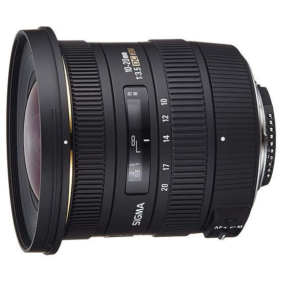Objectif pour appareil photo Sigma 10-20mm F3.5 EX DC HSM