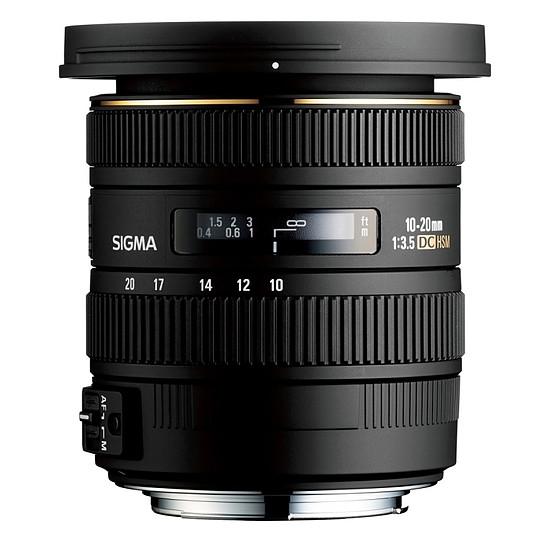 Objectif pour appareil photo Sigma 10-20mm F3.5 EX DC HSM - Autre vue