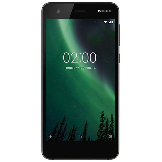 Smartphone et téléphone mobile Nokia 2 (noir)