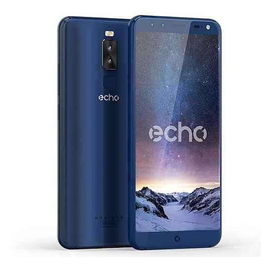 Smartphone et téléphone mobile Echo Horizon (bleu)