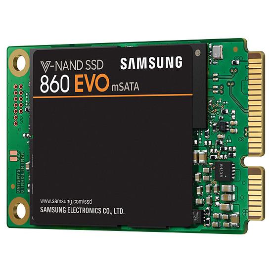 Disque SSD Samsung Serie 860 EVO mSATA 500 Go