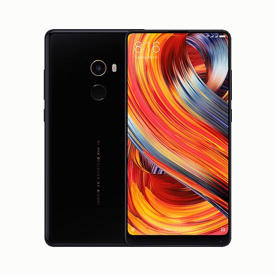 Smartphone et téléphone mobile Xiaomi Mi MIX 2 (noir) - 64 Go (version française import) - Autre vue