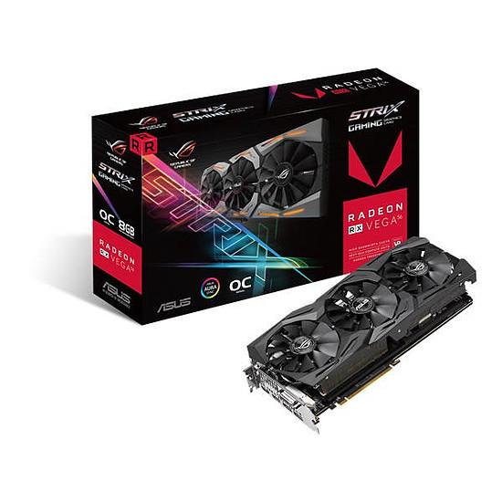 Carte graphique Asus ROG Strix Radeon RX VEGA 56 O8G Gaming - 8 Go