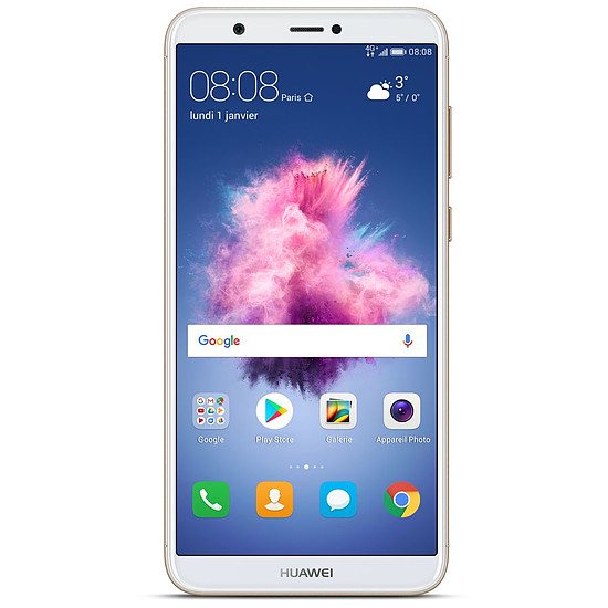 Smartphone et téléphone mobile Huawei P Smart (or) - Dual-Sim - 32 Go