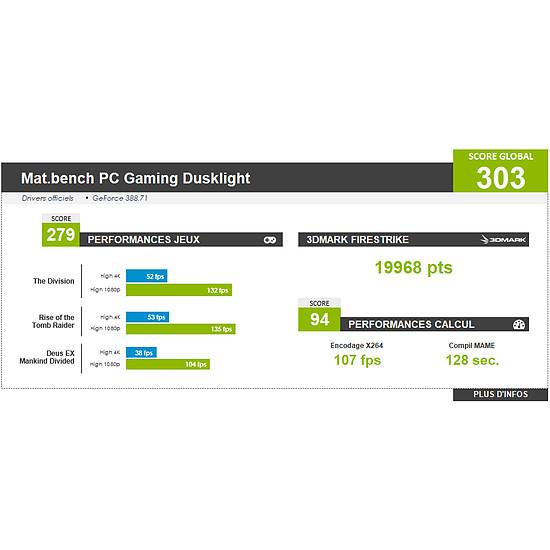 PC de bureau Materiel.net Dusklight par Watermod [ Win10 - PC Gamer ] - Autre vue