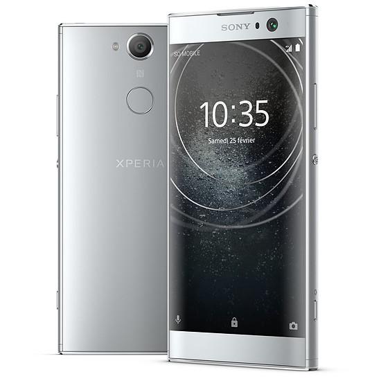 Smartphone et téléphone mobile Sony Xperia XA2 (argent)