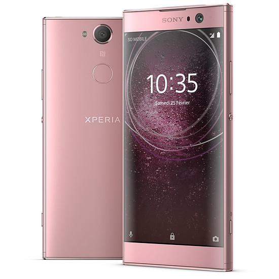 Smartphone et téléphone mobile Sony Xperia XA2 (rose)