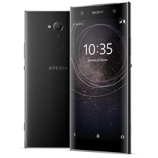 Smartphone et téléphone mobile Sony Xperia XA2 Ultra (noir)