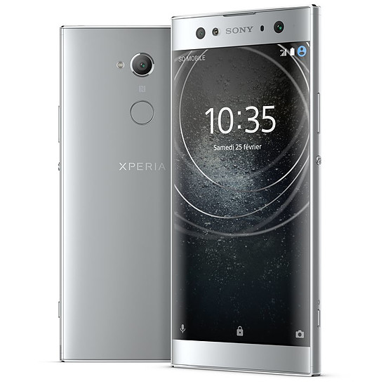 Smartphone et téléphone mobile Sony Xperia XA2 Ultra (argent)