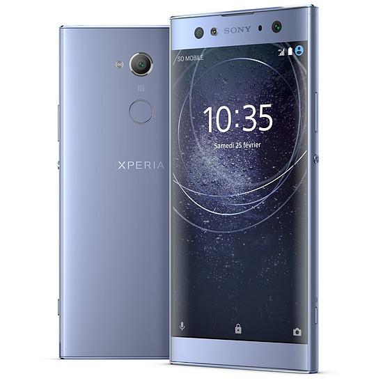Smartphone et téléphone mobile Sony Xperia XA2 Ultra (bleu)