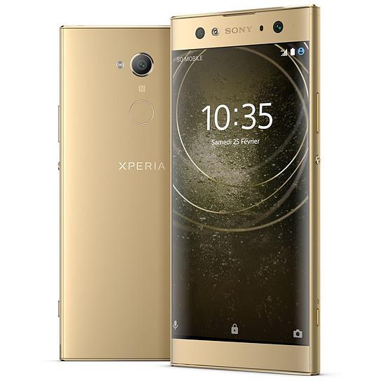 Smartphone et téléphone mobile Sony Xperia XA2 Ultra (or)