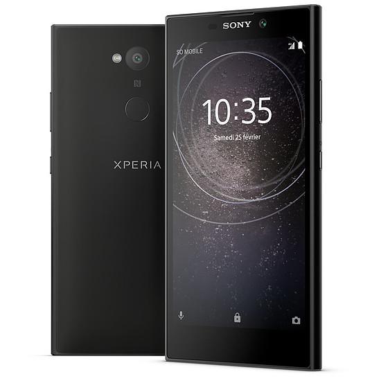 Smartphone et téléphone mobile Sony Xperia L2 (noir)
