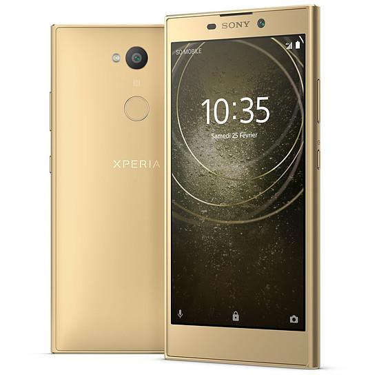 Smartphone et téléphone mobile Sony Xperia L2 (or)