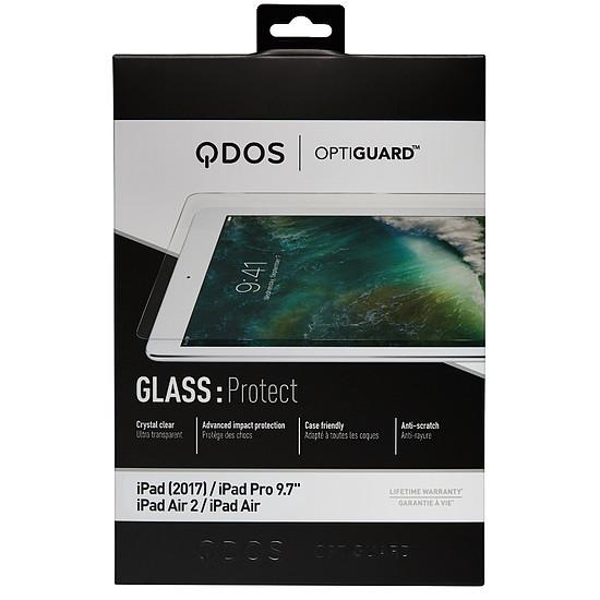 """Accessoires tablette tactile Qdos Film en verre trempé - iPad 9,7"""""""