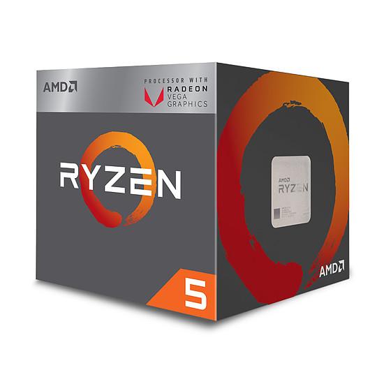 Processeur AMD Ryzen 5 2400G (3,6 GHz) - Autre vue