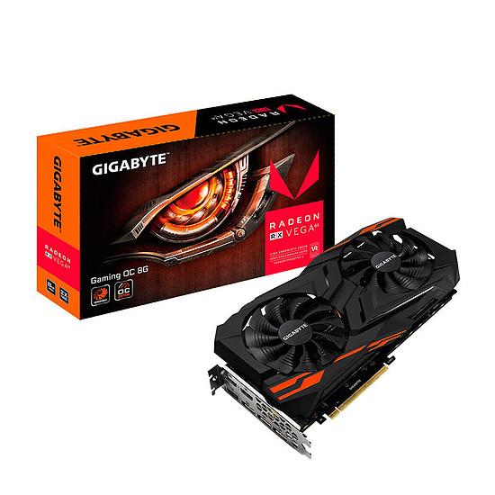 Carte graphique Gigabyte Radeon RX Vega 64 Gaming OC - 8 Go