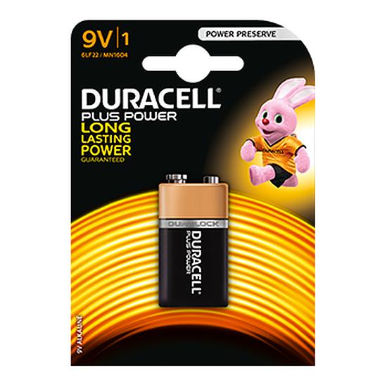 Pile et chargeur Duracell Piles Alcaline Plus Power 9V 6LR61 (à l'unité) - Autre vue