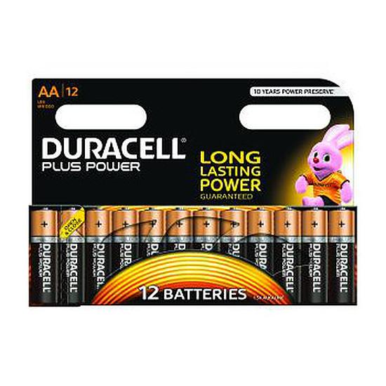 Pile et chargeur Duracell Piles Alcaline Plus Power AA LR06 (par 12) - Autre vue