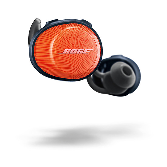 Casque Audio Bose Soundsport Free Orange vif / Bleu nuit