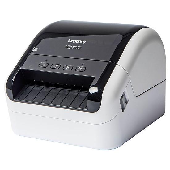 Imprimante thermique / Titreuse Brother QL-1100 - Imprimante Etiquettes Portable - Autre vue