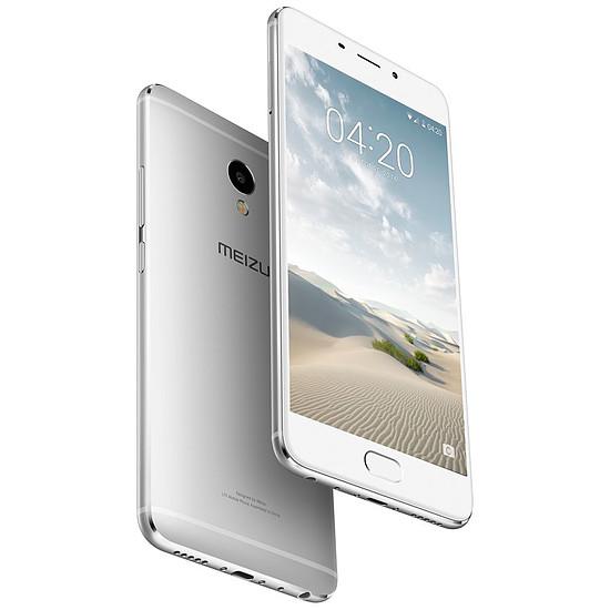 Smartphone et téléphone mobile Meizu M3E (argent) - 32 Go - 3 Go RAM