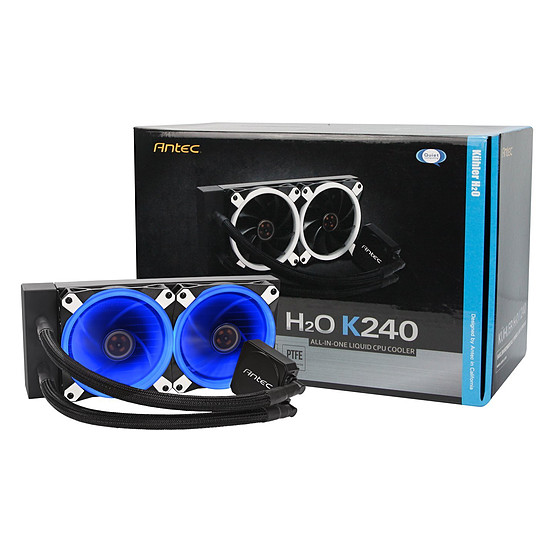 Refroidissement processeur Antec Kuhler K240 - Autre vue